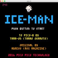ICE-MAN PICO-8 version