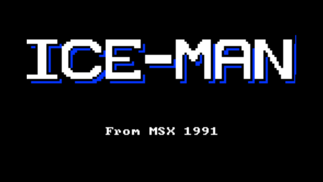 ICE-MAN for iPhone ランチイメージ