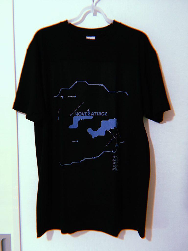 ホバーアタックTシャツ購入
