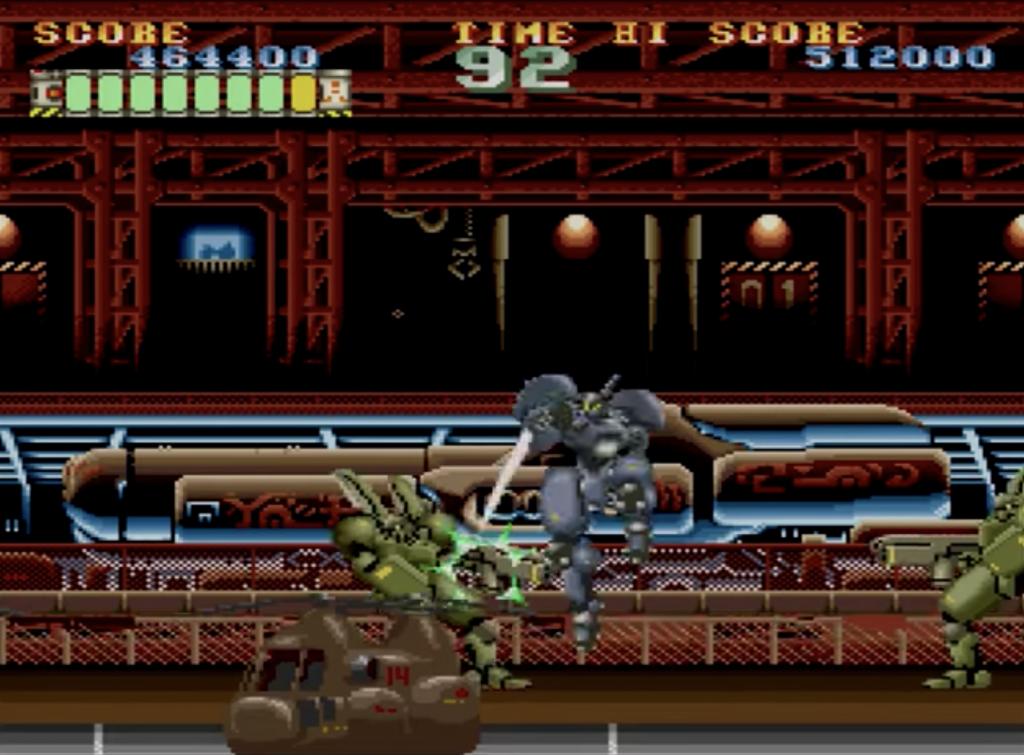 マッドストーカー ゲーム画面