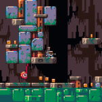 UFO Swamp Odyssey ゲーム画面
