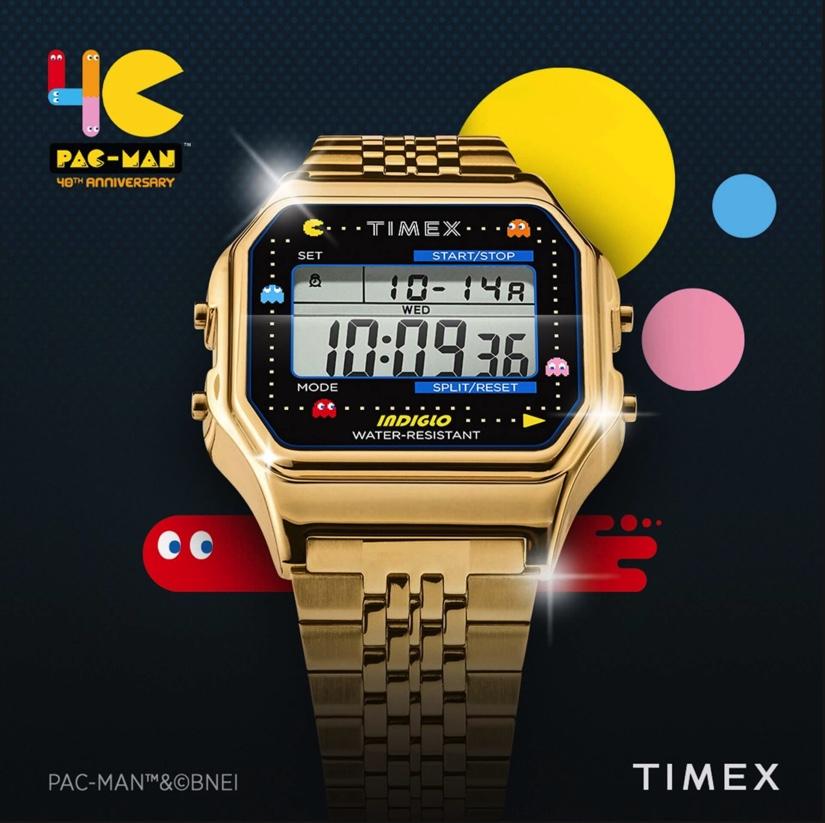 タイメックス80 × 「パックマン」ウォッチ
