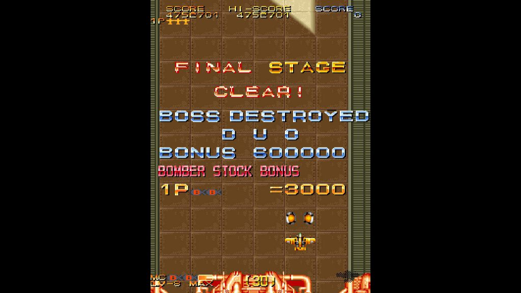 FINAL STAGE CLEAR